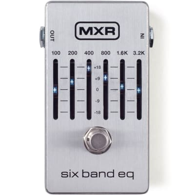 MXR M109S 6-Band Equalizer Effects Pedal for sale