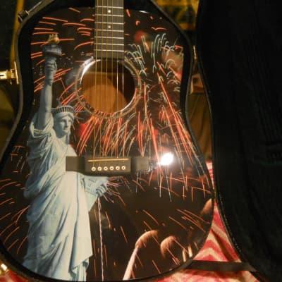 2016 Martin D 16 GT-Lady Liberty-Custom-Black-OHSC for sale