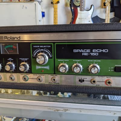 Roland Japan RE-150 Space Echo w/ orig cleaning kit. 1979 for sale