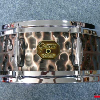 Gretsch USA custom hammerd Copper Snare G4160HC  14x5