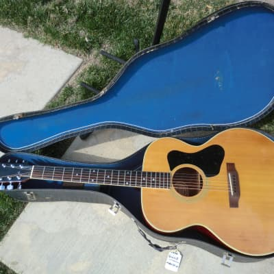1970 Guild Madeira A-40 Jumbo Acoustic Guitar w/Case MIJ for sale