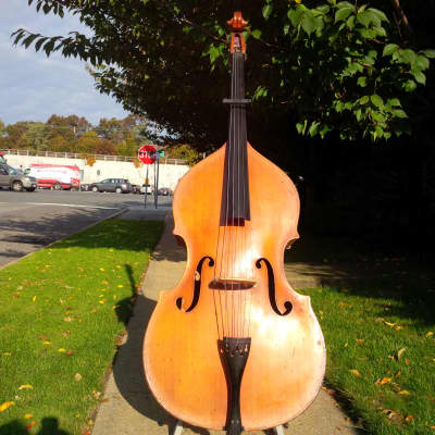 Kay 5 String-3/4 Upright Bass, Bass Fiddle, Double  Bass-Shop Setup-w/Ultralite Case and Bow for sale