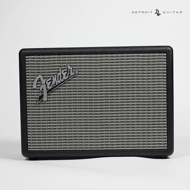 fender monterey bluetooth speaker detroit guitar reverb. Black Bedroom Furniture Sets. Home Design Ideas