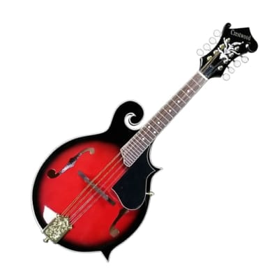 Crestwood F Style Mandolin Red Sunburst for sale