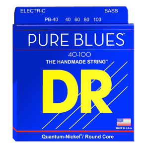DR PB-40 Pure Blues Bass Strings - Light (40-100)