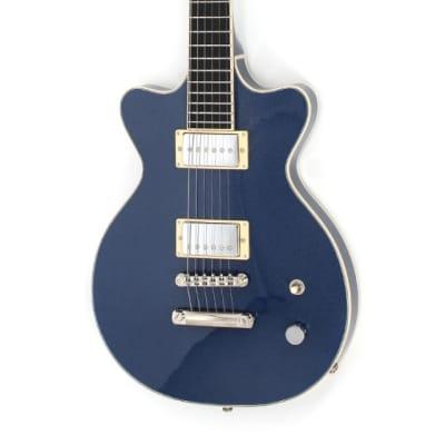 Höfner Leader Professional Blue Sparkle E-Gitarre