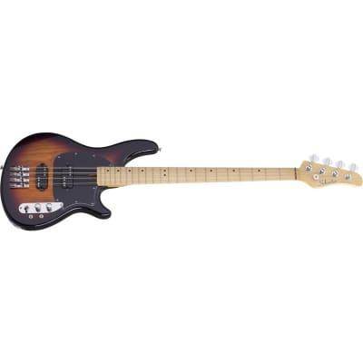 Schecter CV-4 Bass, 3-Tone Sunburst for sale