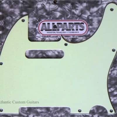 Allparts Mint Green 3 ply Pickguard For USA Fender Telecasters for sale