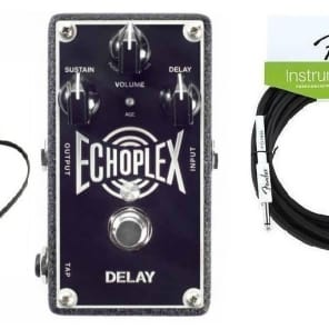 Dunlop MXR EP103 Echoplex Delay Pedal Warmth & Modulation EP-3 Tape Echo & Adapter ( FENDER 18FT )