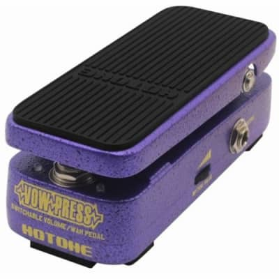 Hotone Vow Press switchable volume/wah-wah effects pedal for sale