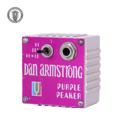 1970s Dan Armstrong Purple Peaker for sale