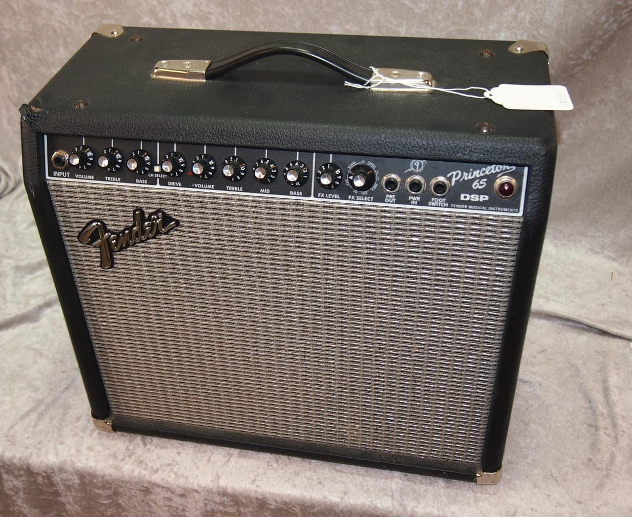 fender princeton 65 dsp electric guitar combo amp reverb. Black Bedroom Furniture Sets. Home Design Ideas