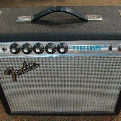 Fender Silverface Vibro Champ Combo
