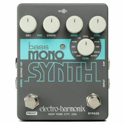 Electro Harmonix Bass Mono Synth Effects Pedal (B-STOCK) for sale