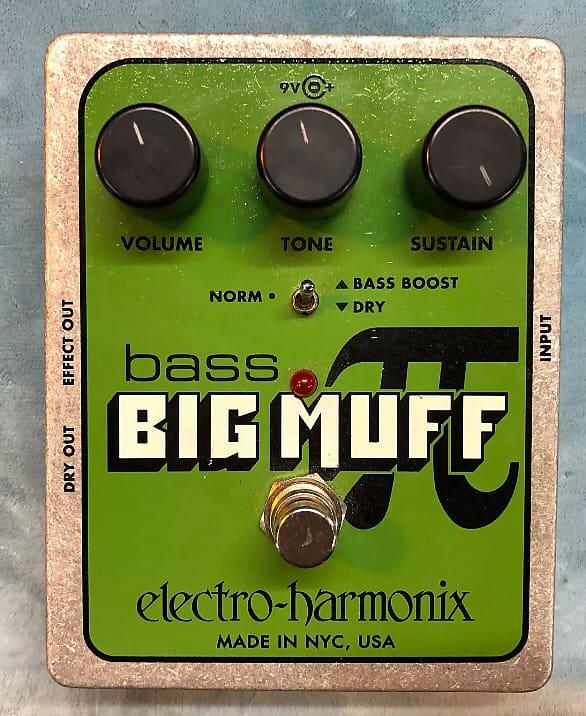 electro harmonix bass big muff pi fuzz pedal gear bazaar reverb. Black Bedroom Furniture Sets. Home Design Ideas