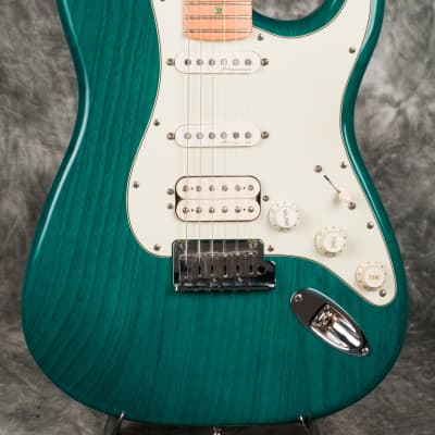 Fender American Deluxe Fat Stratocaster  1998 Aqua Teal for sale