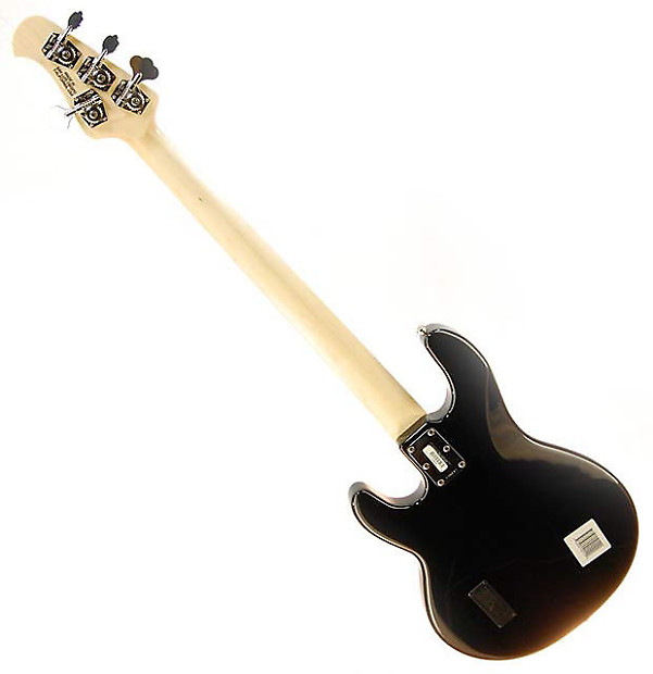 music man stingray 4 string electric bass black maple reverb. Black Bedroom Furniture Sets. Home Design Ideas