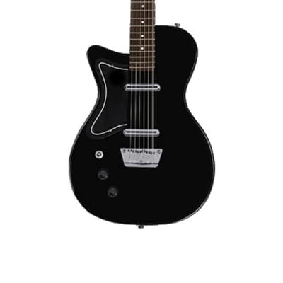Danelectro Baritone Guitar - Left Handed Lefty Black