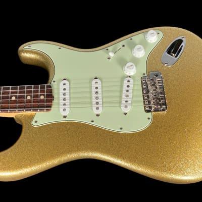 2019 Fender Stratocaster 1963 Custom Shop NOS ~ Gold Sparkle for sale