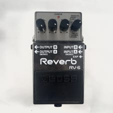 Boss RV-6 Reverb With Box