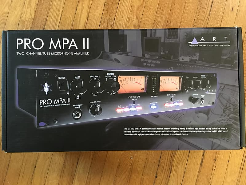 art pro mpa ii 2 channel tube mic preamp pnw gear reverb. Black Bedroom Furniture Sets. Home Design Ideas
