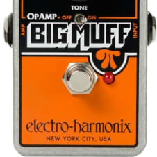 Electro-Harmonix Op Amp Big Muff Distortion / Sustainer pedal