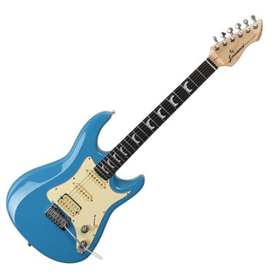 Eminence Professional Skyblue SSH Gloss Electric Guitar for sale