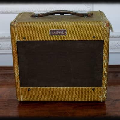 Vintage 1955 Fender Wide-Panel Tweed Princeton Model 5D2 - Excellent! for sale