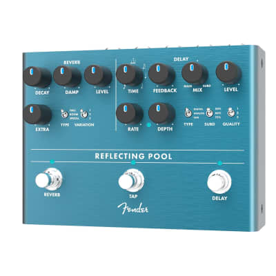 Fender Reflecting Pool Delay and Reverb Pedal