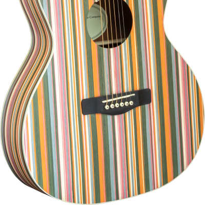 Adam Black OM-RB Rainbow Acoustic Guitar for sale