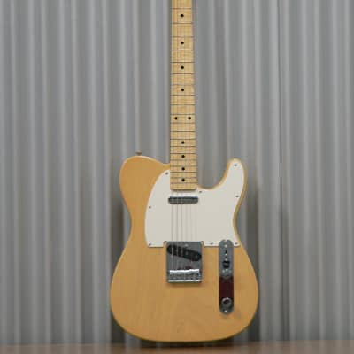 Hayakawa Guitarworks E2020 Ash body Blond-M, Tele style Guitar with Brown Hard-shell case