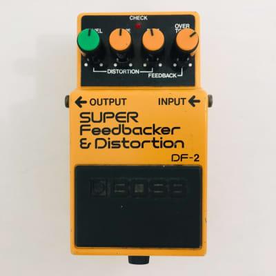 Used Boss DF-2 SUPER FEEDBACKER Guitar Effects