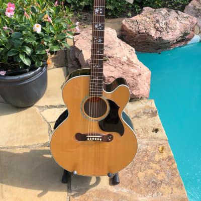 Gibson J-180 EC STAR (RARE) 2000 Natural gloss for sale