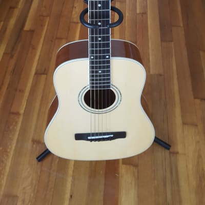 Mitchell MDJ10/N Mitchell Dreadnought Jr. Miniature Acoustic Guitar -  Travel Sized Mini Guitar! for sale