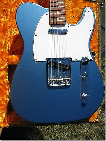 mint fender telecaster 1963 reissue lake placid blue reverb. Black Bedroom Furniture Sets. Home Design Ideas
