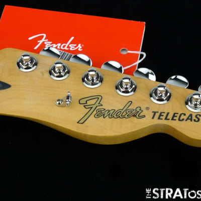 "Fender Deluxe Nashville Tele NECK & LOCKING TUNERS Telecaster 12"" 6105 Maple"