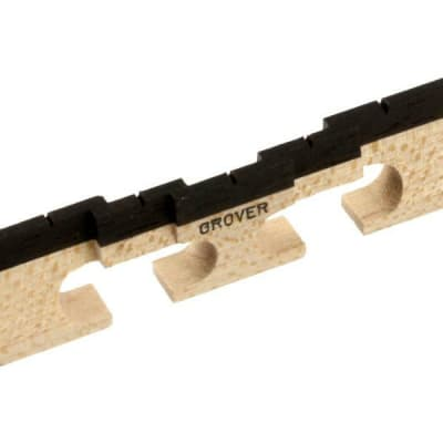 Grover 5 String Compensated Banjo Bridge 77