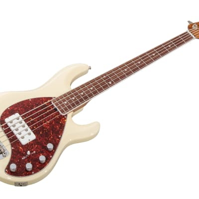 Music Man USA Stingray 5 TBC - Trans Buttercream 30th Anniversary Limited Edition RW PV for sale