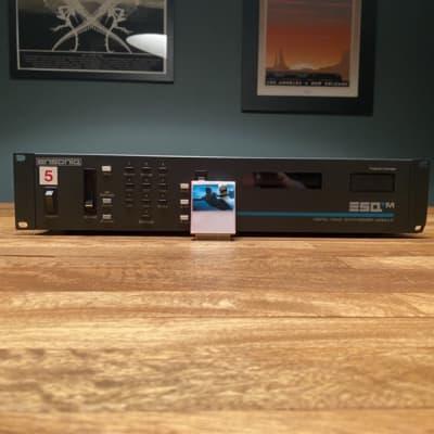 Ensoniq SQ-80m SQ80 Digital Analog Hybrid Synthesizer (Professional ESQm Mod) w/ 16-in-1 Ram Cart