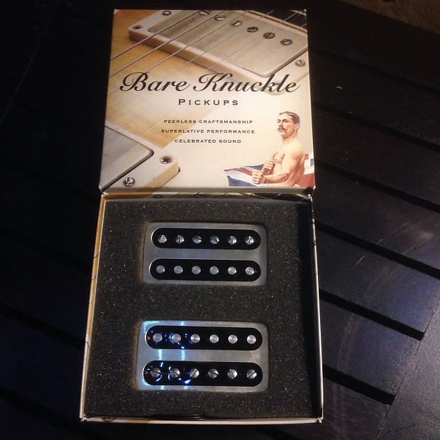 bare knuckle black dog humbucker pickup set bronze nickle reverb. Black Bedroom Furniture Sets. Home Design Ideas