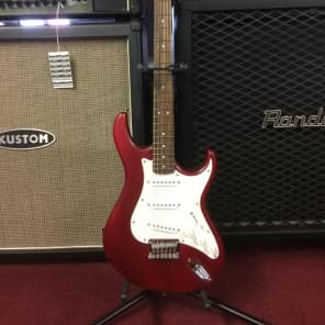 Cort G50 Red Open-Pore Satin Electric Guitar [ProfRev] for sale