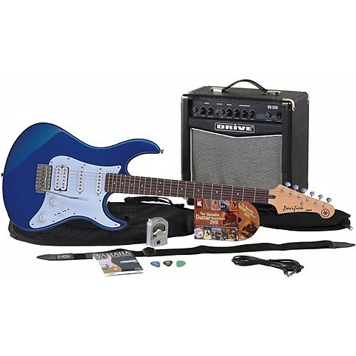 yamaha gigmaker electric guitar starter pack metallic dark reverb. Black Bedroom Furniture Sets. Home Design Ideas