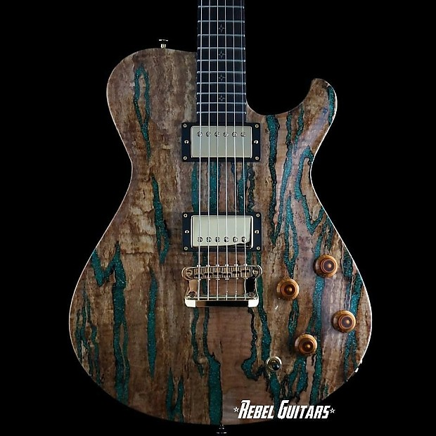 knaggs guitars tier 2 kenai in spalted maple top with reverb. Black Bedroom Furniture Sets. Home Design Ideas
