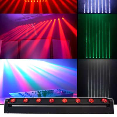 Rockville MOTIONSTRIP Motorized Moving Head RGBW Color Strip Wash/Beam Light Bar
