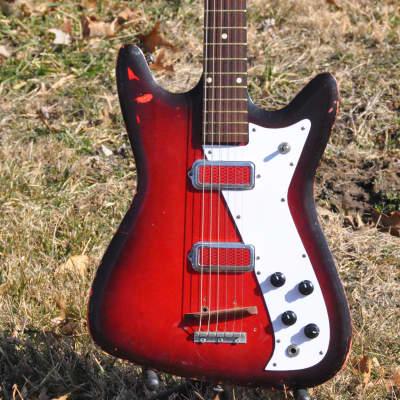 Kay Vanguard II (Double Pickup) Redburst for sale