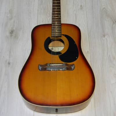 vintage KLIRA RED RIVER 12string GITARRE dreadnought guitar Germany 1960` Player for sale
