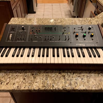 Moog Opus 3 1980 - AMAZING condition! Vintage, all original analog synth