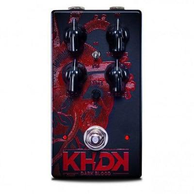 KHDK Electronics Kirk Hammett KHDKDB Dark Blood Distortion Guitar Effects Pedal image