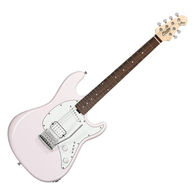 Sterling By Music Man Short Scale Cutlass HS Shell Pink - B-Stock for sale