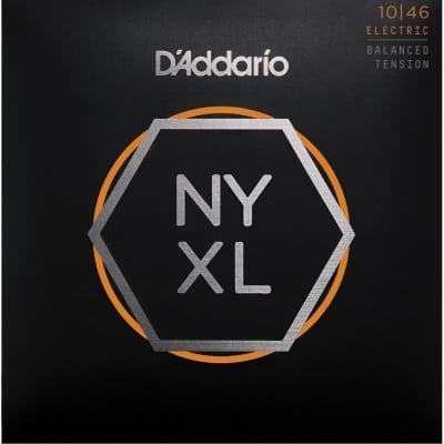 D'Addario NYXL1046BT Regular Light Nickel Wound Electric Guitar Strings - Balanced Tension - 10-46 G